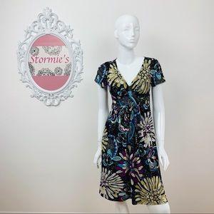 Diane Von Furstenberg | 100% Silk Floral Dress